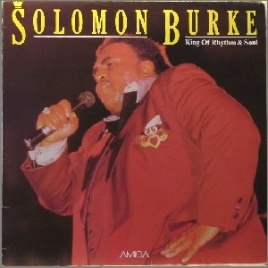 Solomon Burke King Of Rhytm & Soul Vyl Amiga 8 56 319