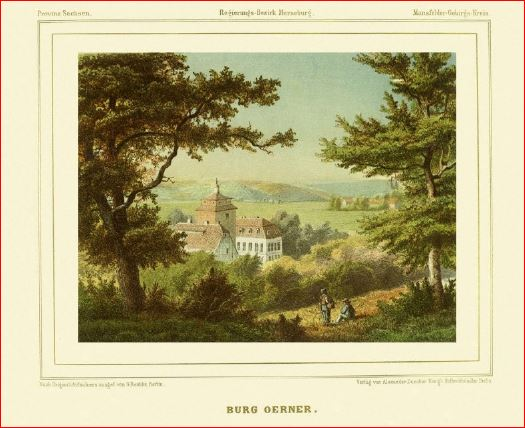 1857 Burg Oerner Bild