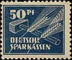 50-Pfennig Sparmarke