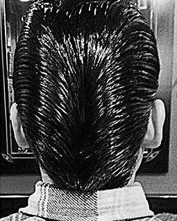 50erjahre-frisur ente (ducktail)