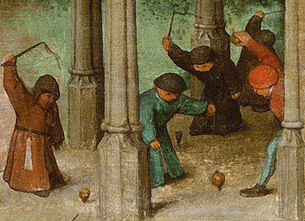 pieter bruegel the elder kreiseln