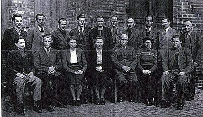 lehrerkollegium zentralschule siersleben 1955